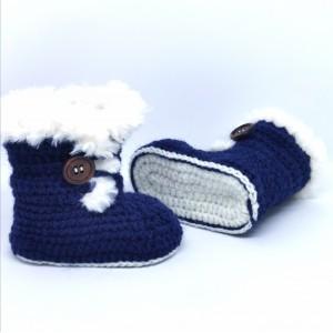 Otroški škorenjci - modri 2