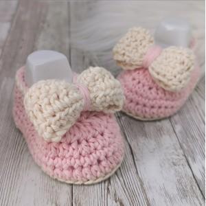 Otroške balerinke - roza