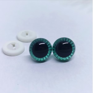 Varnostne oči 12mm zelene - certificirane