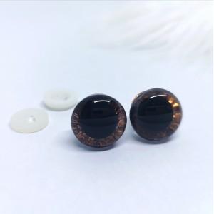 Varnostne oči 16mm  bakrene/3D - certificirane