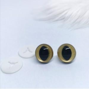 Varnostne oči mačje/zlate - certificirane