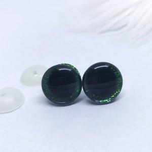 Varnostne oči zelene/3D - certificirane