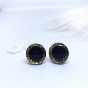 Varnostne oči 20mm zlate/3D - certificirane