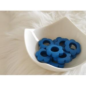 Lesene rožice - temno modre (2 kosa)