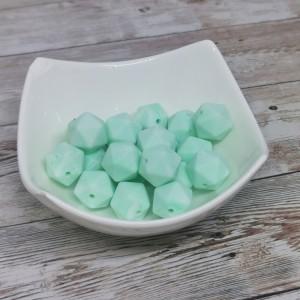 Silikonski hexagoni - marmor mint