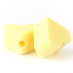 Silikonski srčki (5 kosov)