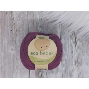 """Preja Eco Bebek iz organskega bombaža - BORDO """"MAG"""""""