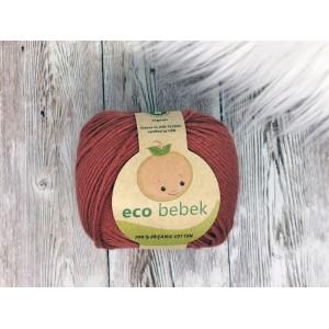 """Preja Eco Bebek iz organskega bombaža - BAKRENA """"NOISETTE"""""""
