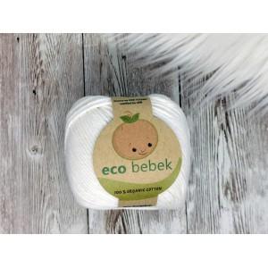 """Preja Eco Bebek iz organskega bombaža - BELA """"WHITE"""""""